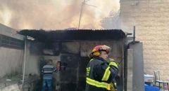 الرملة: حريق كبير بمصنع بلاستيك و لا اصابات