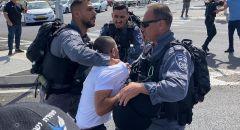 جديدة المكر: تظاهرة ضد مخطط شارع 6 والشرطة تعتدي على المتظاهرين واعتقال ثلاثة اشخاص