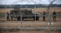 الجيش الاسرائيلي : تبادل اطلاق نار على حدود قطاع غزة