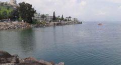 بحيرة طبريا تسجل ارتفاع منسوب المياه  بـ8 سنتيمترات