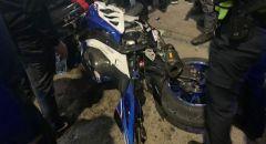 شفاعمرو: اصابة صاحب دراجة نارية بعد مطاردة بوليسية