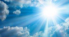 حالة الطقس: أجواء حارة وبداية فصل الصيف وأطول ايام السنة