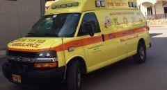 إصابة عامل اثر سقوطه عن علو أثناء عمله في كفرمندا