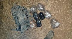 اعتقال شاب من الغجر خلال محاولته تهريب المخدرات في منطقة الحدود اللبنانية