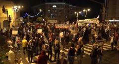 للاسبوع الـ14 الالاف يتظاهرون امام مقر نتنياهو في القدس