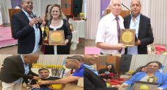 """مؤسسة المراكز الجماهيرية العربية  """"مستوى"""" تتوج بحفل بهيج ومميز 100 شخصية ريادية ورياضية من المجتمع العربي"""