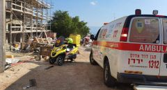 طبريا: اصابة عامل اثر سقوط جسم ثقيل بورشة بناء في حالته خطيرة