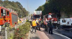 تخليص عالقين اثنين بعد اندلاع حريق داخل مبنى في حيفا