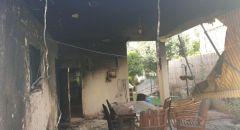 اندلاع حريق بعريشة خارج منزل في دالية الكرمل