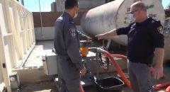اغلاق محطة وقود غير قانونية في باقة الغربية