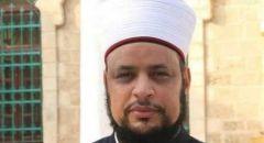 اعتقال الشيخ د. أحمد أبو عجوة إمام مسجد حسن بيك في يافا