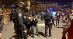 القدس: مناوشات واشتباكات واعتداءات للشرطة بعد تنظيم مظاهرة لليمين المتطرف ضد العرب