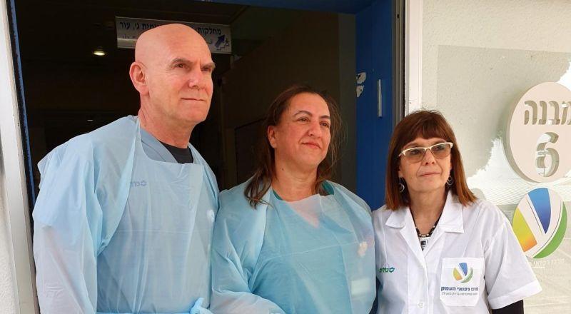المركز الطبي هعيمق : إغلاق قسم الكورونا الطبي بعد تسريح اخر 3 متعافين