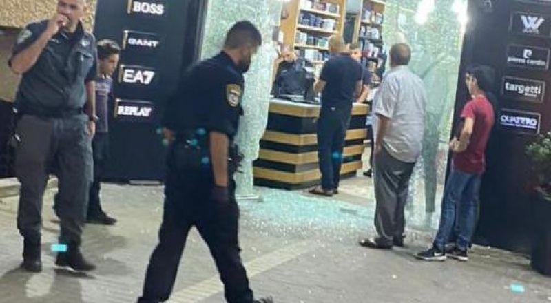 اطلاق رصاص باتجاه محل تجاري في عرابة