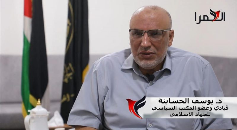 د.يوسف الحساينة في لقاء حصري للحمرا: ستبقى الروابط الفلسطينية مع الاخوة من عرب الداخل قوية جداً