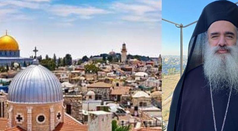 المطران عطا الله حنا: القدس تشهد تصعيدا غير مسبوق في الانتهاكات الاسرائيلية وتهميش الحضور الفلسطيني