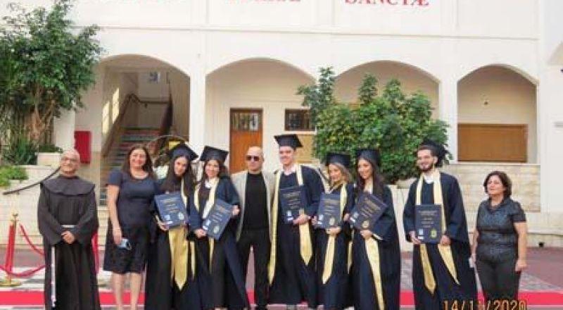 تخريج الفوج 48 في المدرسة الإيطالية - حيفا بأجواء بهيجة