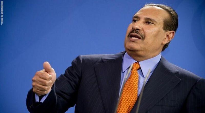 """حمد بن جاسم يتحدث عن """"استحالة"""" الحياة في لبنان ويدعو الرئيس الفلسطيني إلى نقل السلطة"""