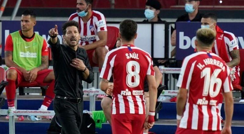 سيميوني يفسر سبب حصول ريال مدريد على ركلات جزاء أكثر