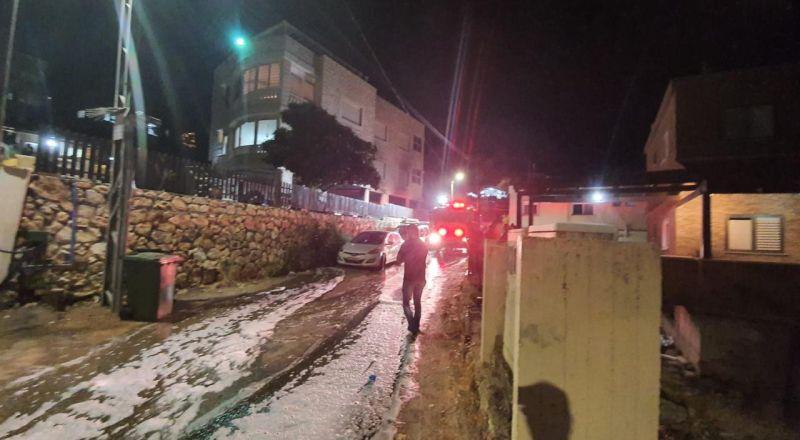 الرامة: اطلاق نار على أحد المنازل وإحراق سيارة