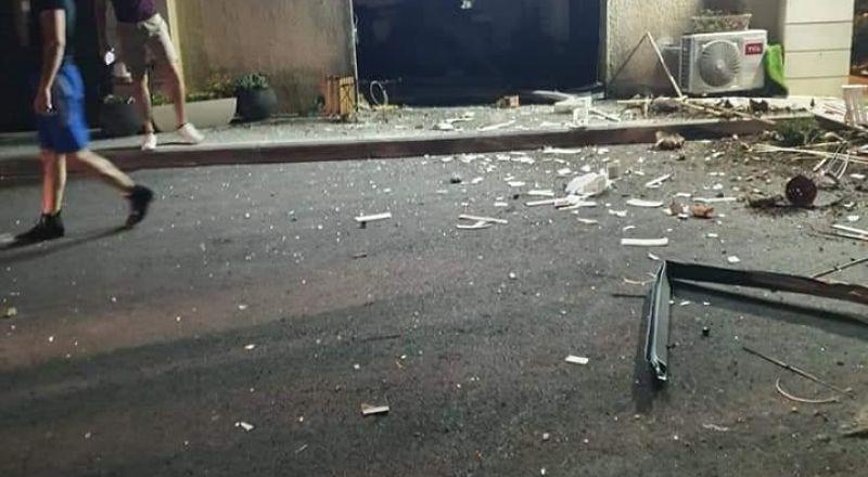 إلقاء قنبلة على احدى المحلات التجارية في شفاعمرو