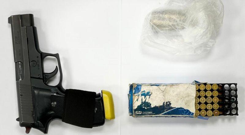 طمرة :  اعتقال مشتبه بحيازة سلاح ومخدرات