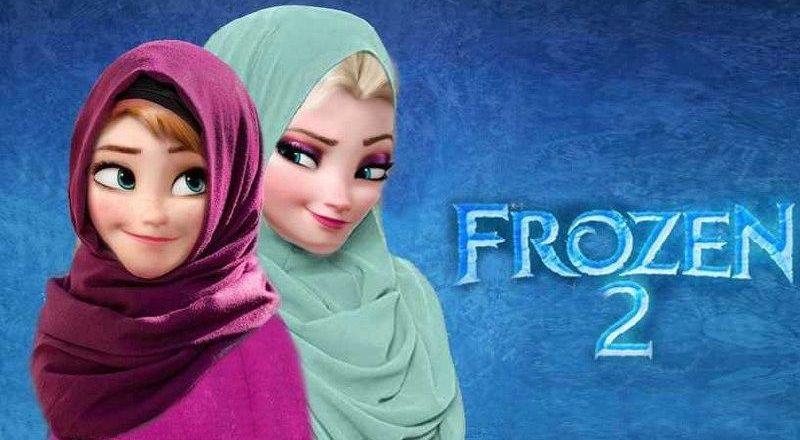 خامنئي يأمر بوضع الحجاب في الافلام الكرتونية المعروضة في إيران