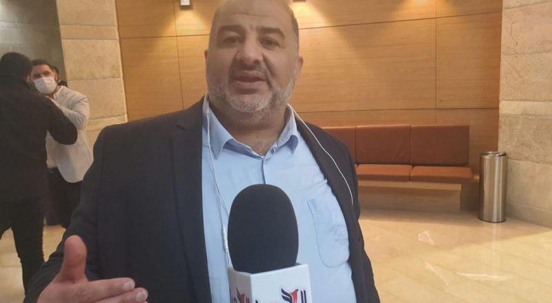 النائب منصور عباس: نهجنا واضح.. وبوصلتنا وأهدافنا وثوابتنا واضحة