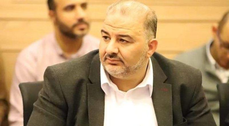النائب منصور عباس التقى بالراف دروكمان لاقناعه قبول الموحدة في الحكومة