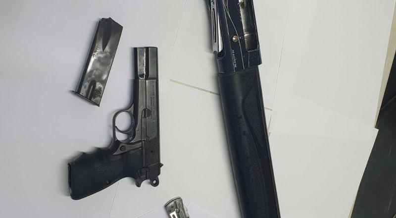 اعتقال مشتبه (24 عاما) من ام الفحم بشبهة حيازة سلاح