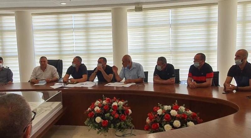 جلسة بخصوص خارطة الباتمال بمشاركة الطاقم المهني وممثلين عن الأهالي والبلدية في سخنين