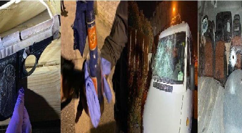 الرملة: اصابة شرطي باطلاق نار خلال شجار واعتقال 69 مشتبهًا