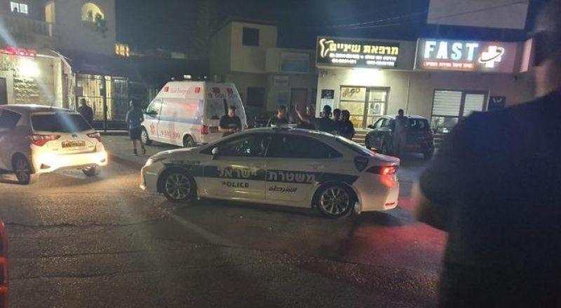 الناصرة : إصابة عامل بلدية بجراح إثر تعرضه لإطلاق نار