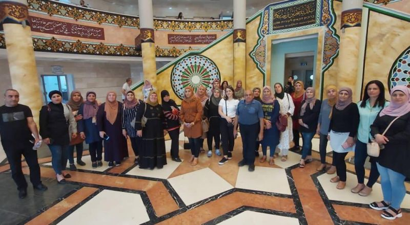 بلدية سخنين تستضيف موظفين من مجالس محلية في الشاغور