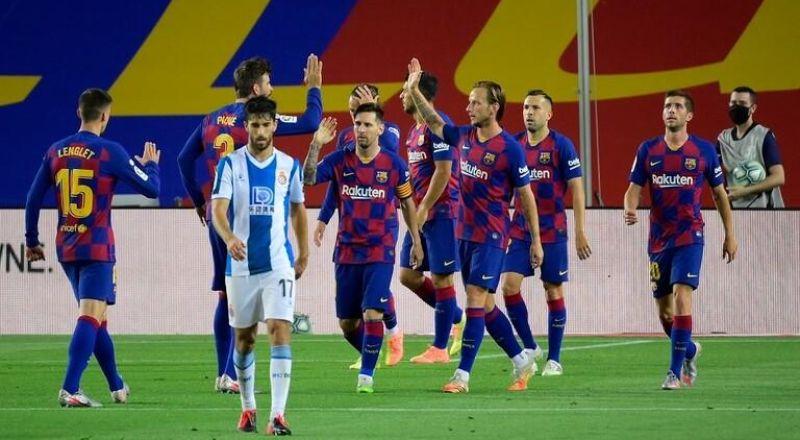 برشلونة يطيح بجاره إسبانيول من الليغا