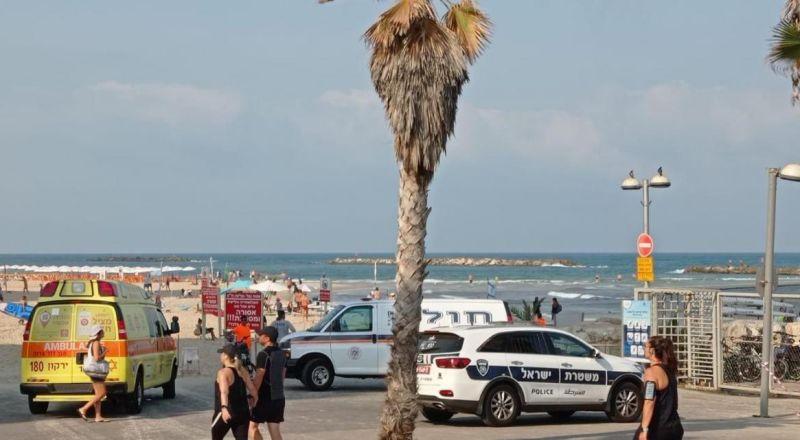 مصرع رجل بعد تعرضه للغرق على أحد الشواطئ في تل أبيب