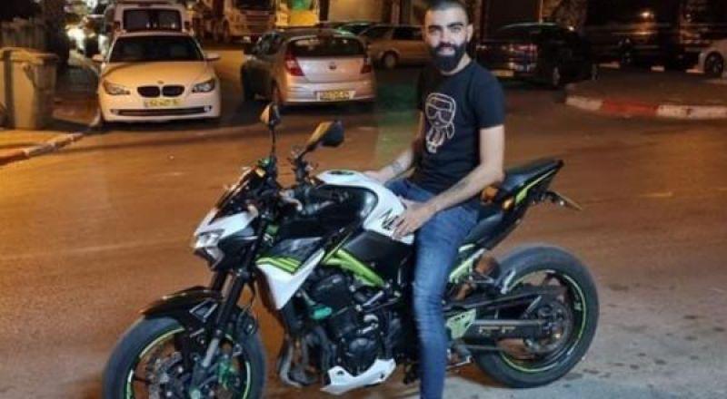 مصرع الشاب داهود بدر من الشيخ دنون بحادث دراجة نارية