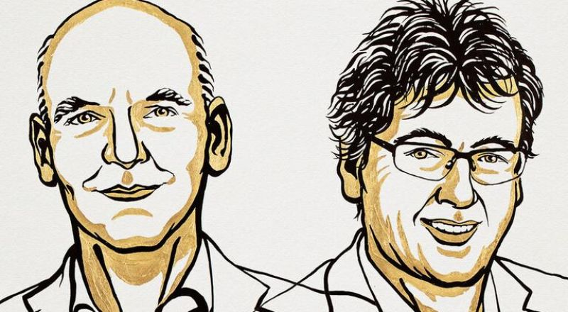 """عالمان يفوزان بجائزة نوبل في الكيمياء لتطوير """"أداة بارعة لبناء الجزيئات"""""""
