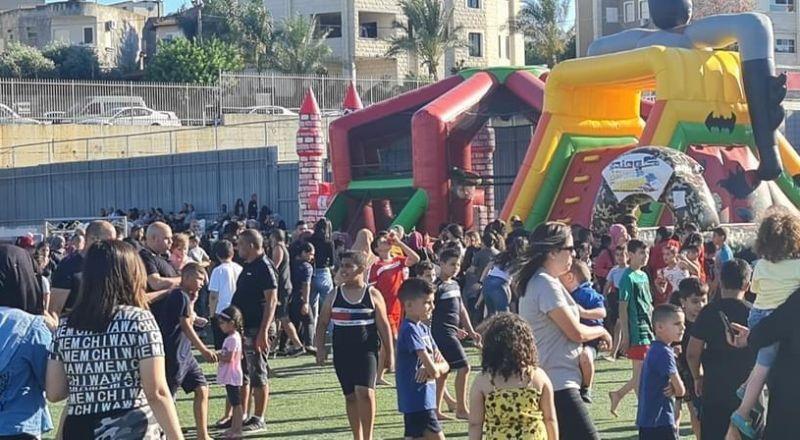 احياء اليوم العالمي للطفل في سخنين بأجواء كرنفالية