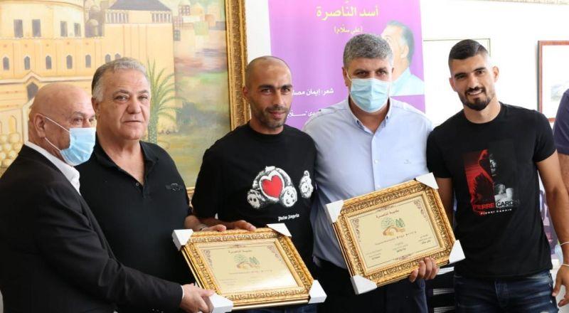 عقد راية الصلح بين فريقي اخاء الناصرة وهبوعيل ام الفحم