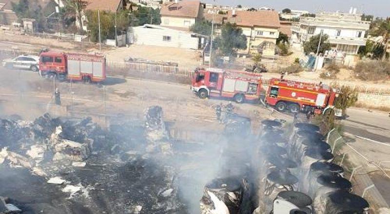 إندلاع حريق في مصنع للورق بالمنطقة الصناعية اوفكيم بالجنوب