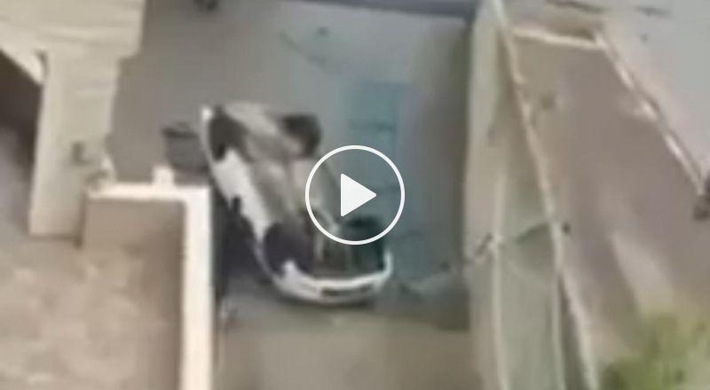 ديرحنا: انحراف سيارة خصوصية وسقوطها عن ارتفاع 3 أمتار واصابة مستقليها بجراح